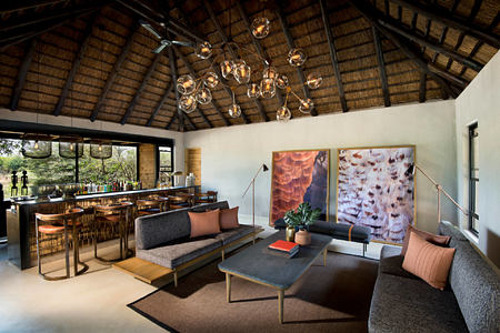 ivory lodge lounge and bar at lions sands south africa