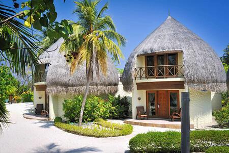 jacuzzi beach villa at Bandos Island Resort Maldives