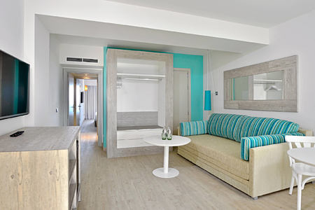 junior suite sitting room at sol beach house