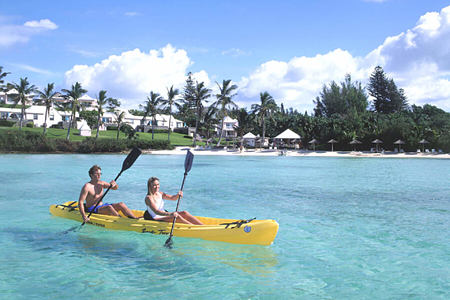 kayaking at cambridge beaches resort and spa bermuda