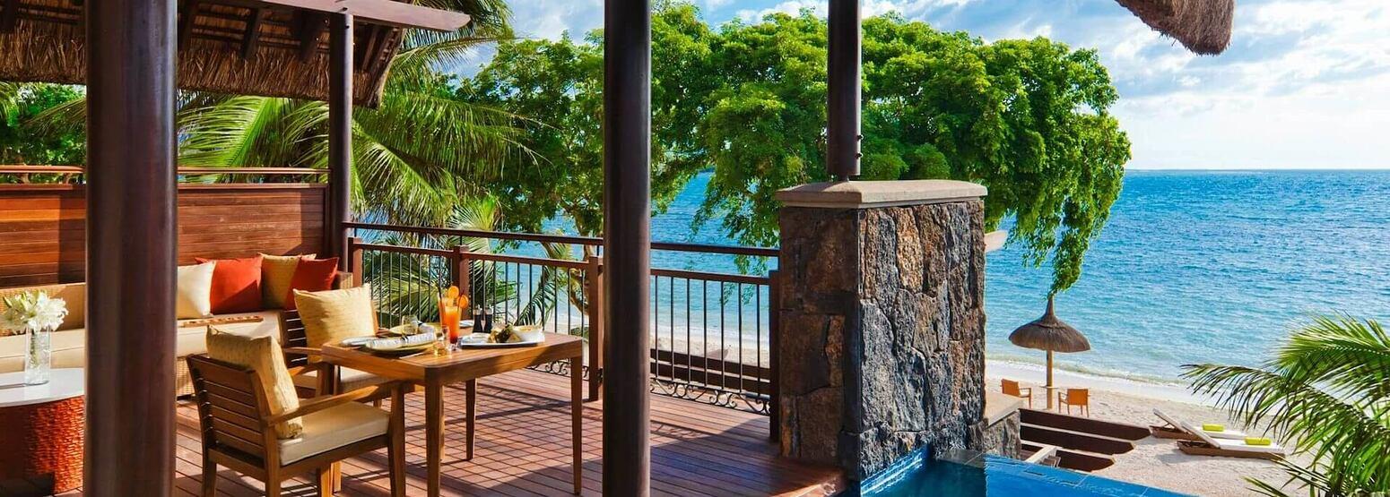beach view at angsana balaclava hotel mauritius