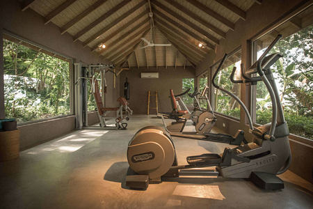 gym at laluna hotel caribbean