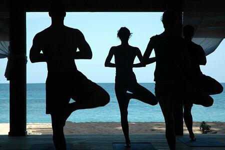 yoga at laluna hotel caribbean