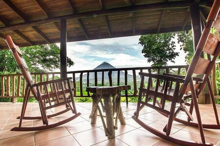 las casitas terrace at lost iguana hotel costa rica