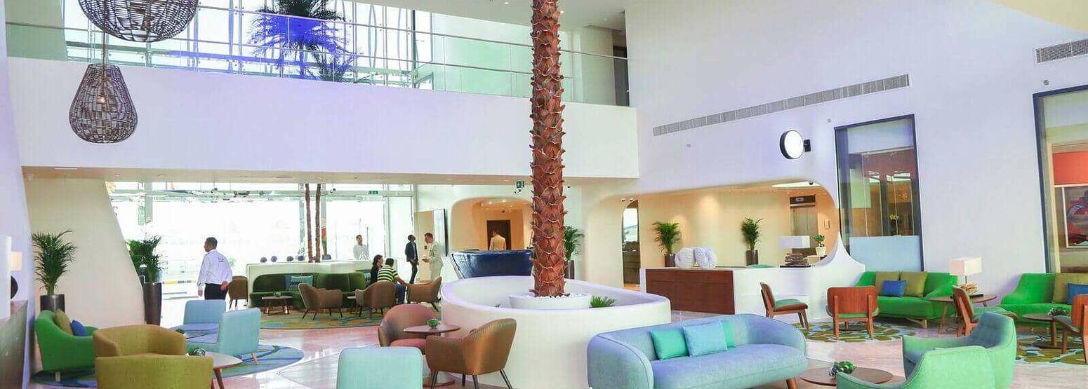 lobby at The Retreat Palm dubai