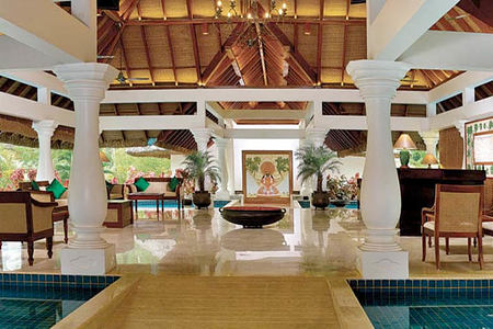 lobby at Carnoustie Ayurveda & Wellness Resort