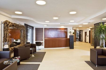 lobby at hotel rosengarten austria