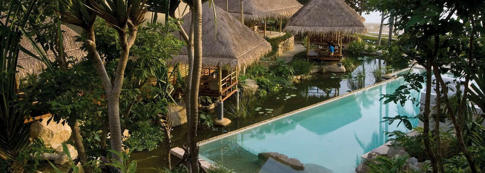pool at kamalaya resort koh samui thailand