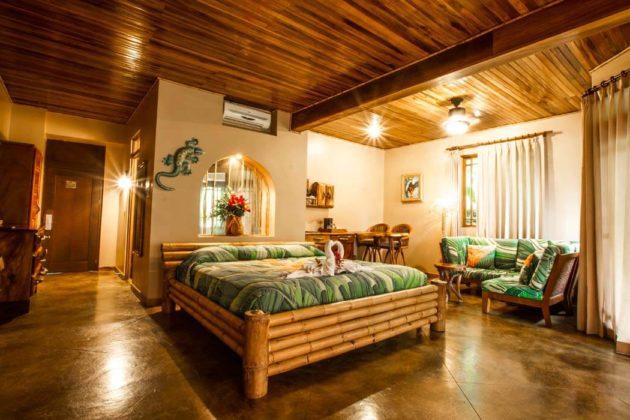 luxury suite at lost iguana hotel costa rica