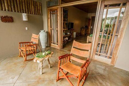 luxury suite terrace at lost iguana hotel costa rica