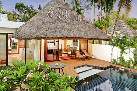 mallika pool villa at Carnoustie Ayurveda & Wellness Resort