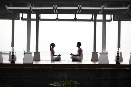 meditation at amatara wellness resort thailand