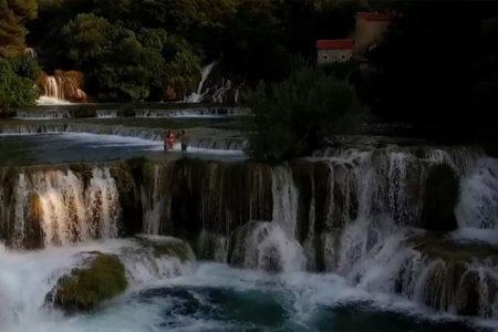 nearby krka river waterfalls at hotel ola croatia