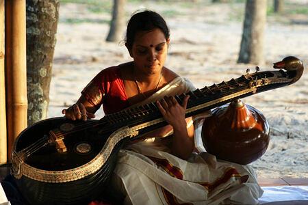 music at Neeleshwar hotel