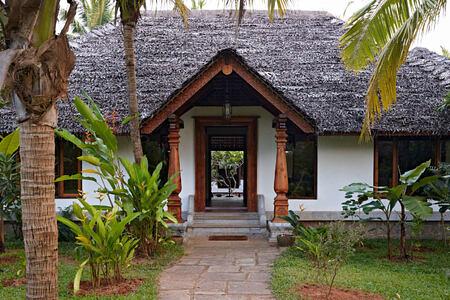 entrance at Neeleshwar hotel