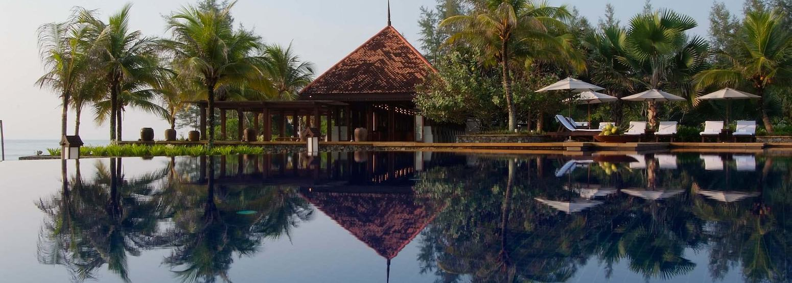 nelayan pool at Tanjong Jara Resort Malaysia