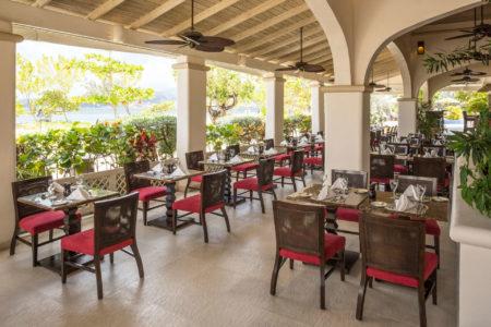 dining at spice island beach resort caribbean