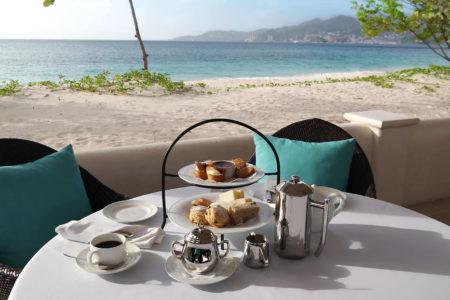 food at spice island beach resort caribbean
