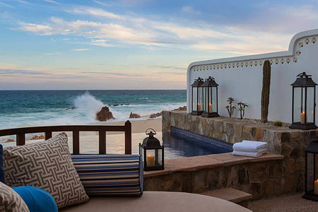 ocean front pool casita junior suite pool at one and only palmilla mexico