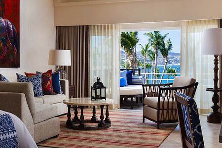 ocean front premier room at one and only palmilla mexico