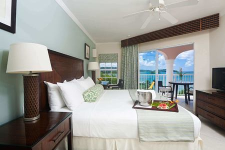 one bedroom ocean view suite at st james morgan bay resort caribbean