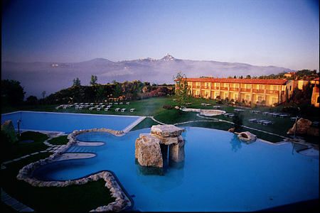 overview at Adler Thermae hotel italy
