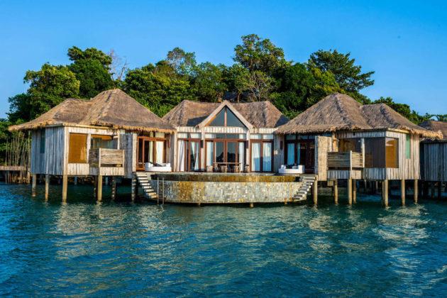 overwater villa at song saa resort cambodia