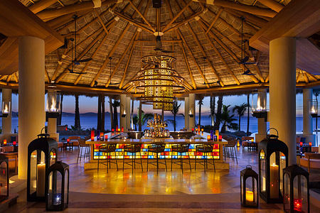 agua bar at one and only palmilla mexico