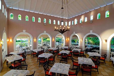 palms restaurant at st james morgan bay resort caribbean