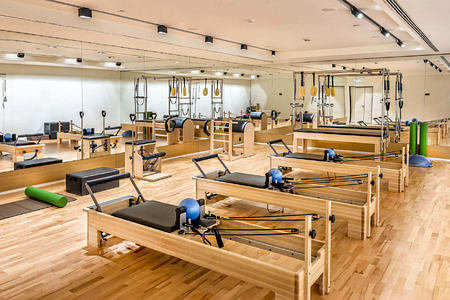 pilates studio at Six Senses Kaplankaya resort turkey