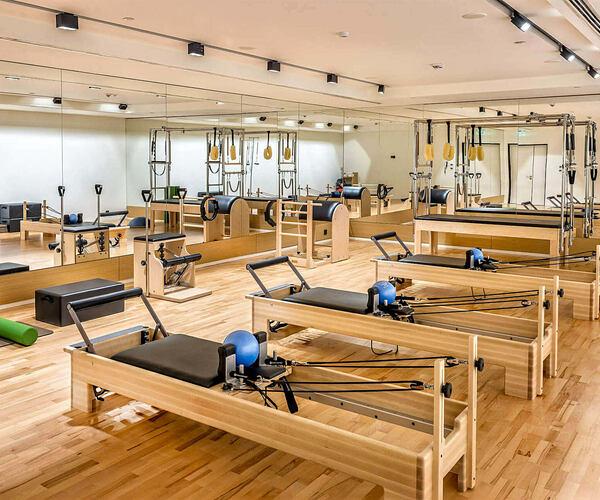 pilates studio at Six Senses Kaplankaya resort turkey