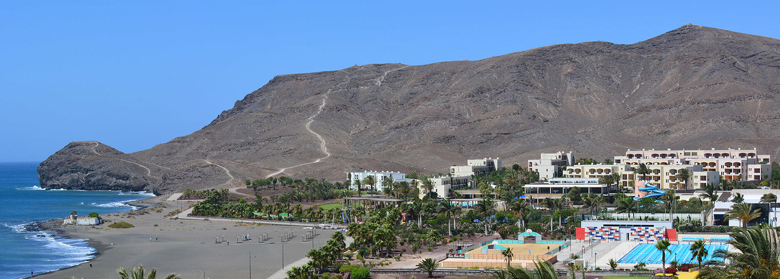 aerial view of playitas resort canary islands