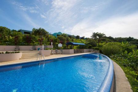 pool and gardens at xandari resort and spa costa rica