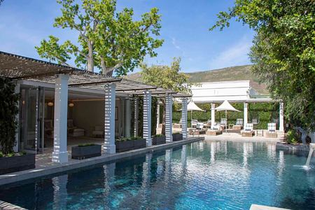 pool area at steenberg hotel south africa