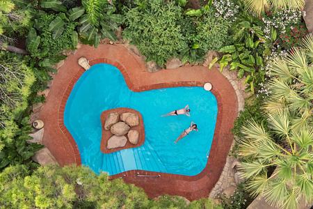 pool prado at Forte Village Bourganville Italy