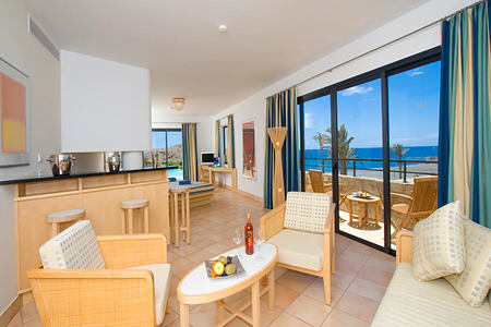 pool suite at playitas resort canary islands