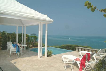 pool suite terrace at cambridge beaches resort and spa bermuda
