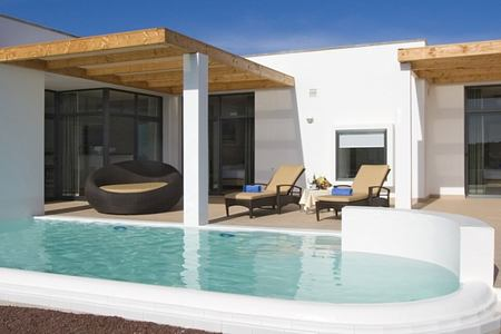 pool villa at playitas resort canary islands