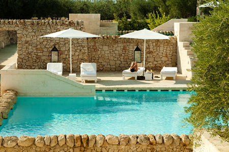 pool at Borgo Egnazia hotel