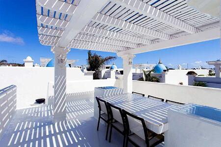 premier garden villa roof terrace at Bahiazul Villas and Club