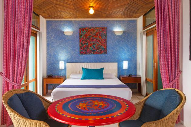 prima plus villa bedroom at xandari resort and spa costa rica