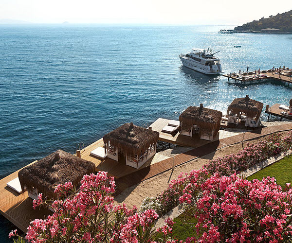 private waterside cabanas at sianji wellbeing resort turkey