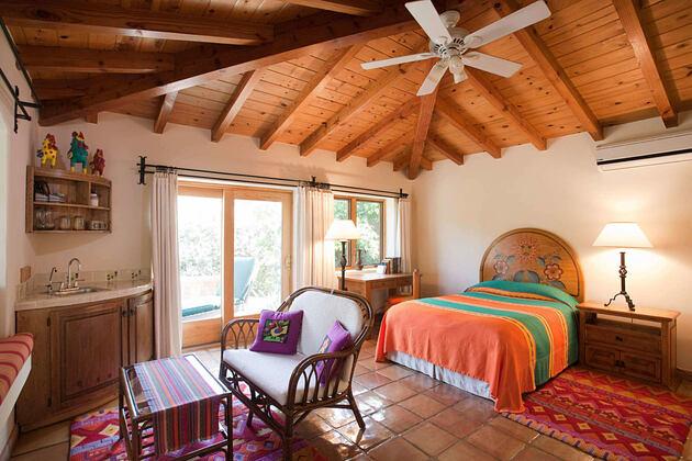 ranchera bedroom at rancho la puerta spa retreat mexico