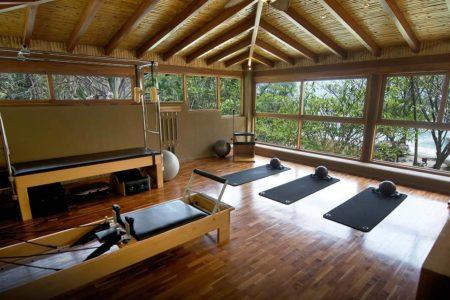 reformer pilates studio at flor blanca resort costa rica