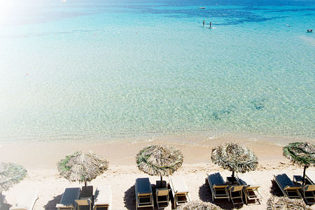 relax on the beach at Pineta Hotel Italy