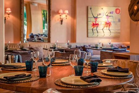 restaurant at The Margi hotel