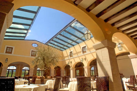 restaurant at Adler Thermae hotel italy