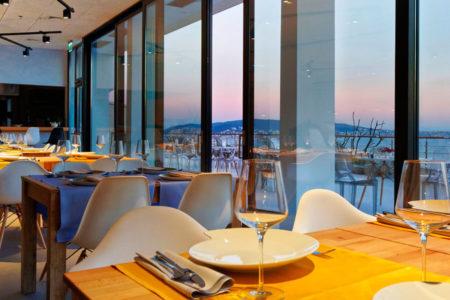 restaurant and terrace at hotel ola croatia