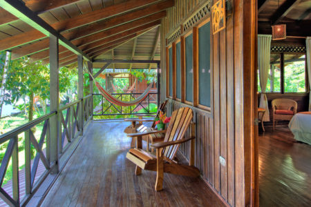 river view upstairs balcony room at tortuga lodge costa rica
