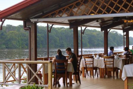 riverside restaurant at tortuga lodge costa rica